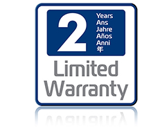 2 year warranty available on the Pronto ID printer